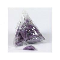 Minis sachets Triangle de sucre violet
