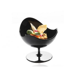 Verrine Ball Chair noire