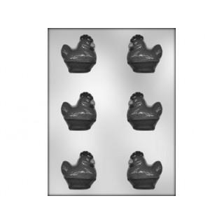Moule Petite poule 3-D