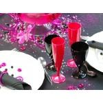 Flûte à champagne Rose Magenta