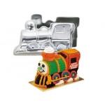 Moule Train Choo-Choo 3D