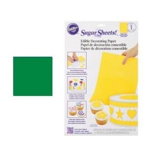 Feuille de sucre - Vert