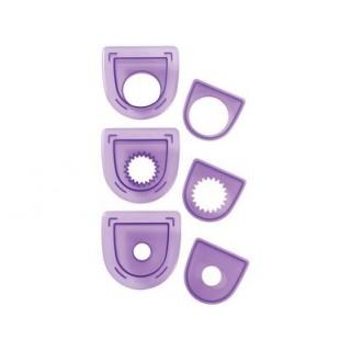3 emporte-pièces pour poinçon - Rond