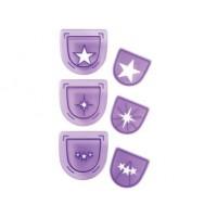 3 emporte-pièces pour poinçon - Étoile
