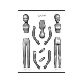 Moule Corps de femme 3-D