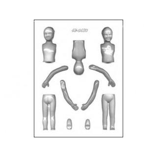 Moule Corps d'enfant 3-D