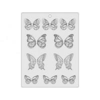 Feuille de veinage pour papillon