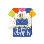 Serviette de table Happy Birthday