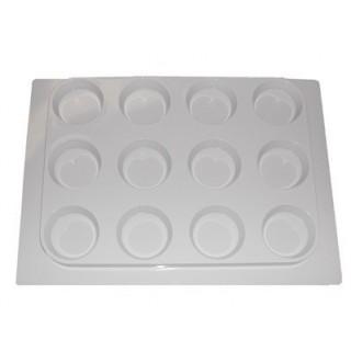 Support en plastique pour 12 cupcakes