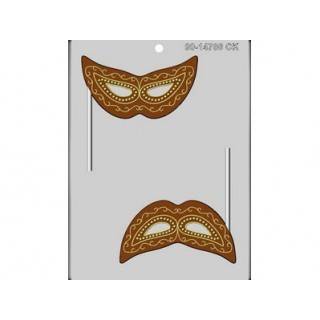 Moule à suçon Masque de Mardi Gras