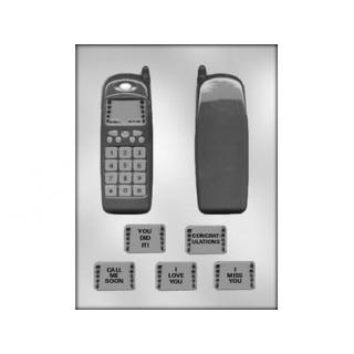 Moule Téléphone cellulaire 3-D