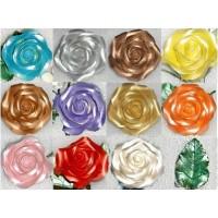 Peinture comestible lustrée 12 couleurs - .65 oz