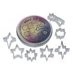 Emporte-pièces Assortiment d'étoiles