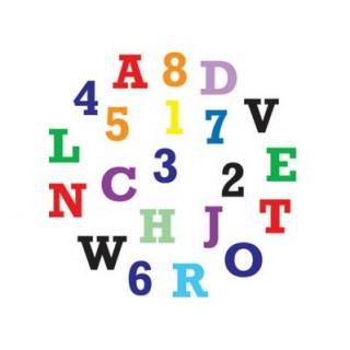 Découpoir Alphabet et nombre - Majuscule