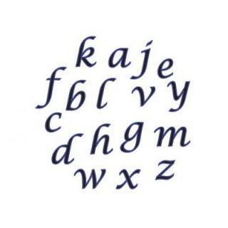 Découpoir Alphabet - Lettre script minuscule