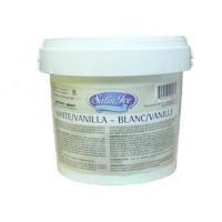 Fondant Satin Ice Vanille - Blanc 11 lb /5 kg