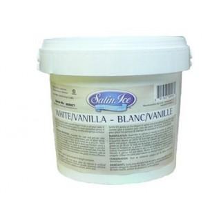 Fondant à rouler Satin Ice - Blanc 11 lbs /5 kg