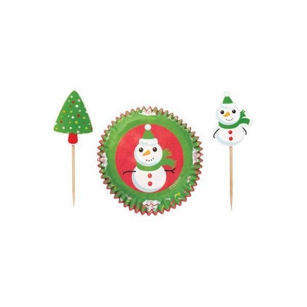Moule en papier et pic bonhomme de neige - Bonhomme de neige en papier ...