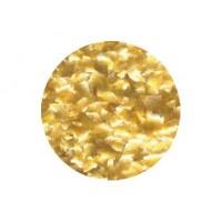Flocon scintillant or métallique