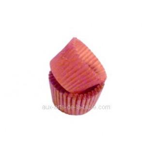 Moule en papier à chocolat ou bonbon - Rouge