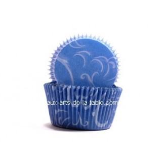 Moule en papier Arabesque Bleu