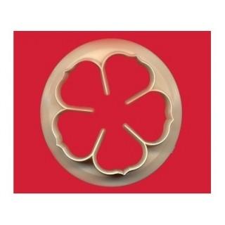 Découpoir 5 Grandes pétales de rose 9 cm