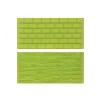 Moules Texture Brique et Écorce