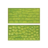 Moules Texture Pavé rond et pierre