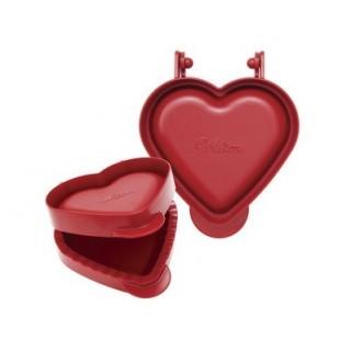 Découpoir et moule à tartelette Coeur