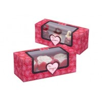 Boite à cupcakes St-Valentin