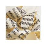 Feuille imprimée Notes de musique