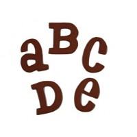 """Moule Grand Alphabet Bébé 1.5"""""""