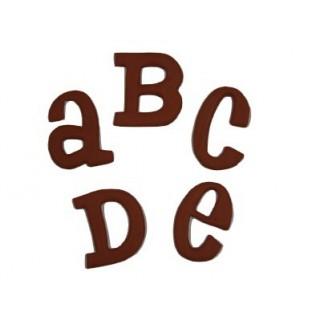 """***LIQ*** Moule Grand Alphabet Bébé 1.5"""""""