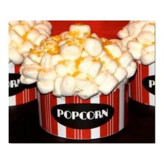 Cupcake Le plat de popcorn