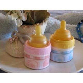 Cupcake Bouteille bleue de bébé