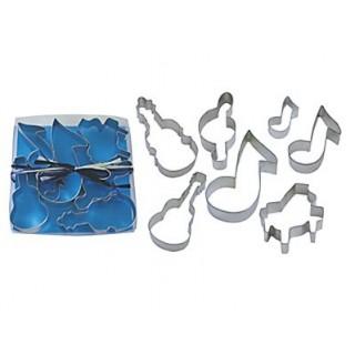 Découpoirs Instruments et notes de musique
