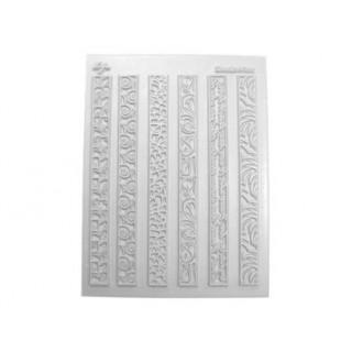 Tapis structure / Étampe - 6 bordures