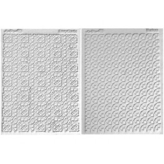 Ensemble tapis structure / Étampe - Ornemental