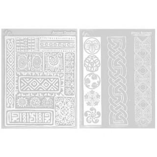 Ensemble tapis structure / Étampe - Culturel