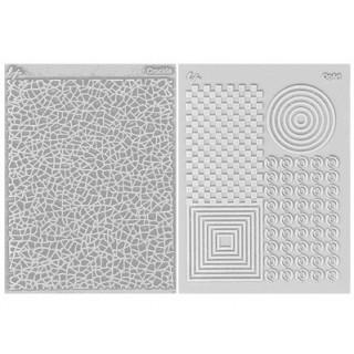 Ensemble tapis structure / Étampe - Patron