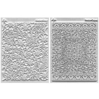 Ensemble tapis structure / Étampe - Fleurissant