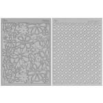 Ensemble tapis structure / Étampe - Rétro