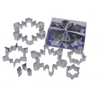 Emporte-pièces Flocons de neige 8 pc