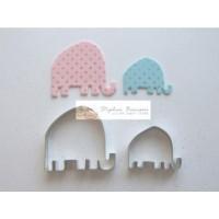 Découpoir Les éléphants