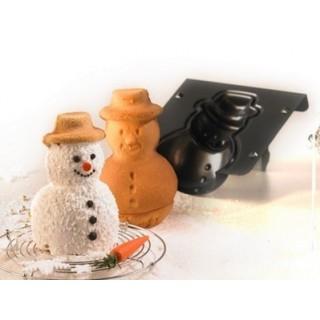 Moule Bonhomme de neige 3-D