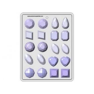 "Moule à bonbon Gros Joyaux 1.5"""