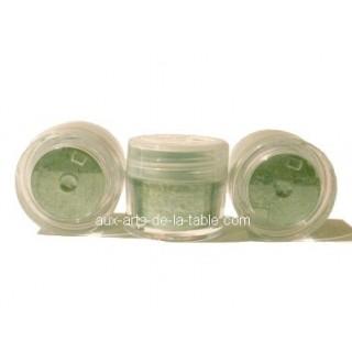 Poudre Perle cristallisée Houx / Feuille de vigne