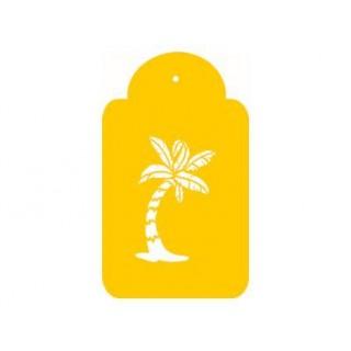 Pochoir Le palmier