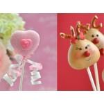 Moule à Cake pops - Coeur