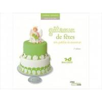 Livre - Gâteau de fêtes en pâte à sucre 2e édition